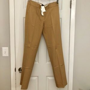 Khaki J. Crew Straight Fit Dress Pant
